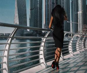 big city, brunette, and classy image