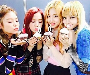 rose, blackpink, and jisoo image