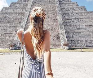 fashion, travel, and girl image
