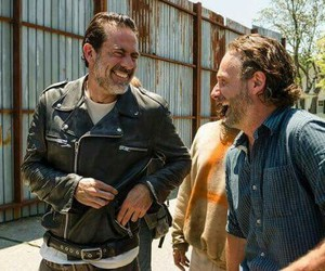 negan, the walking dead, and twd image
