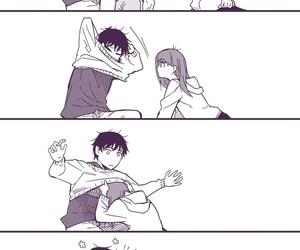 couple, boy, and anime image