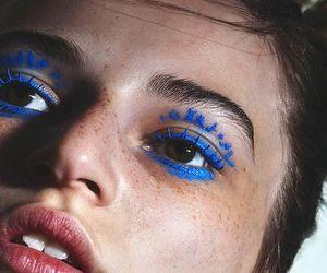 blue, eyes, and grunge image