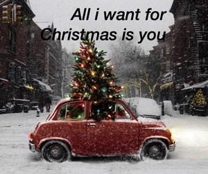 baby, car, and christmas image