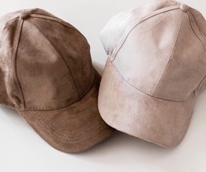 fashion, brown, and cap image