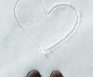 timberland, winter, and lové image