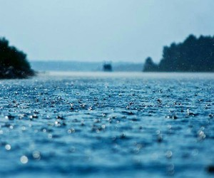 rain, blue, and water image