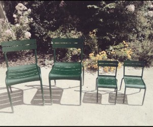 chair, family, and green image