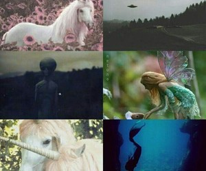 unicorn, alien, and mermaid image
