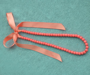 etsy, wedding necklace, and ribbon necklace image
