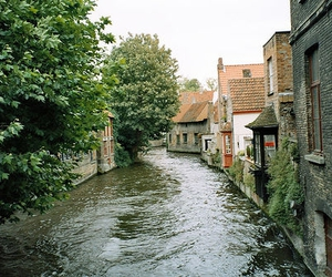 belgium, canal, and canals image