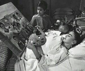art, Frida, and frida kahlo image