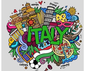 colors, country, and italy image