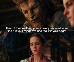 beauty and the beast, belle, and the beast image