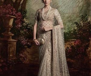 luxury and bollywood saree image