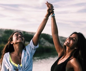 girl, bff, and summer image