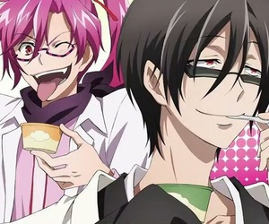 servamp, anime, and tsubaki image