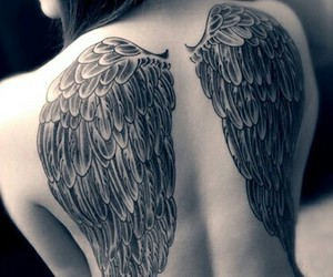angel wings tattoo image