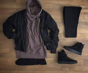hoodie, men outfits, and men image