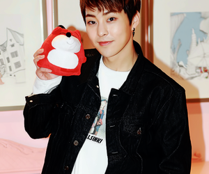 exo, kim minseok, and xiumin image