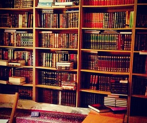 islam, knowledge, and library image