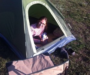 adelya, camping, and traveling image