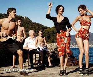 Dolce & Gabbana, monica bellucci, and model image