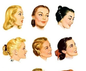 face and hairstyle image