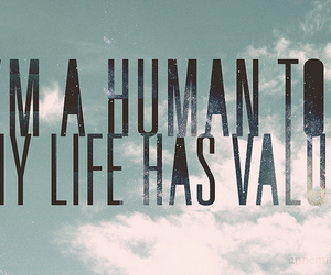 quote, human, and life image
