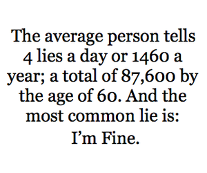 lies, text, and fine image
