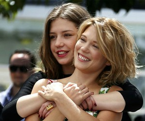 Lea Seydoux and adele exarchopoulos image