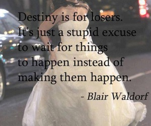 blair waldorf, gossip girl, and destiny image