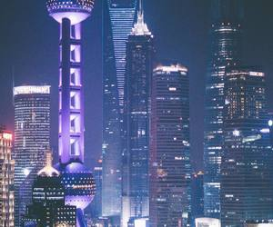 city, photography, and shanghai image