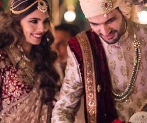 arab, wedding, and india fashion image