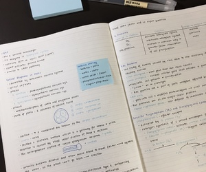 studyspo, studyblr, and study notes image