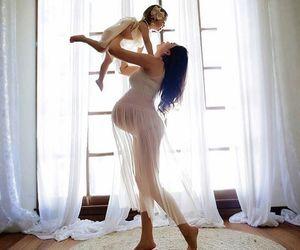 baby, babybump, and beautiful image