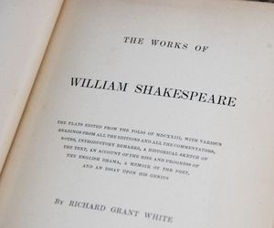 shakespeare, aesthetic, and book image