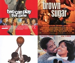 brown sugar, love&basketball, and love jones image