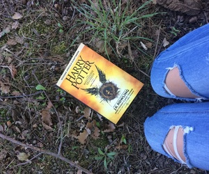 book, harrypotter, and thecursedchild image