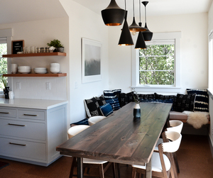 dining, interior design, and kitchen image