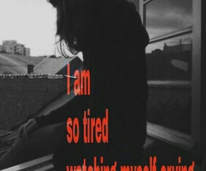 alone, angry, and broken heart image