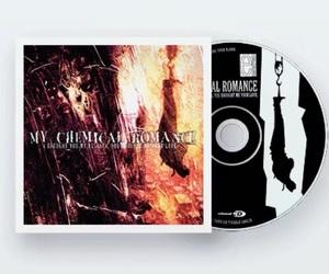 cd, disc, and gerard way image