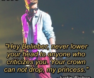justin bieber, quote, and bieber image