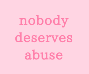 abuse, feminist, and nobody image