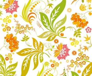 leaves, yellow, and patterns image