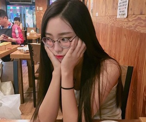 asian, korean, and asian girl image