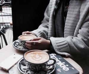 coffee, indie, and drink image