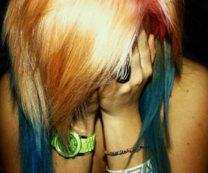 30stm, awesome, and blue hair image