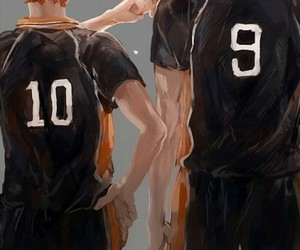 haikyuu, yaoi, and hinata shouyou image