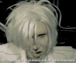 Marilyn Manson, Mechanical Animals, and dont like the drugs image