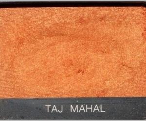 orange, eyeshadow, and makeup image